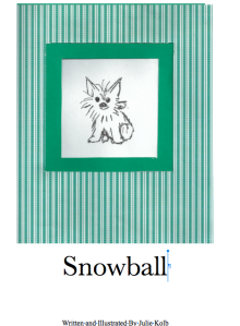 snowball cover shot