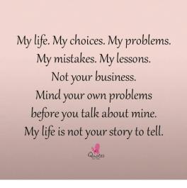 my life quote